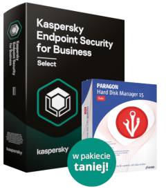 Kaspersky Endpoint Security for Business Select + Paragon Hard Disk Manager 15