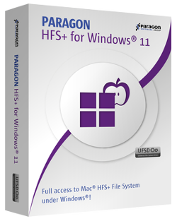 Paragon HFS+ for Windows 11.0