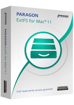 Paragon ExtFS for Mac<sup>&reg;</sup> OS X 11.0