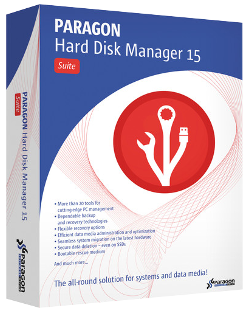Paragon Hard Disk Manager 15 Suite - BOX