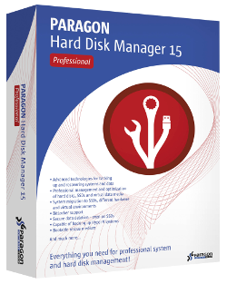 Paragon Hard Disk Manager 15 Professional - BOX
